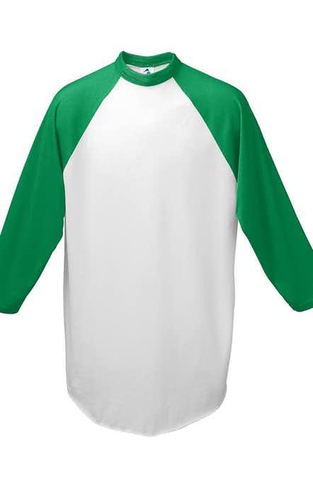 Augusta Sportswear AG4420 White/ Kelly