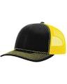 Richardson 112 Black / Yellow