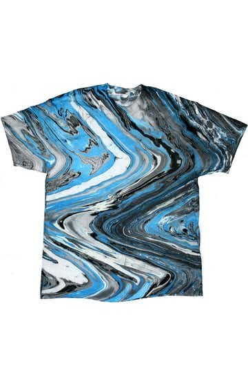 Tie-Dye CD100 Marble Blue Tiger