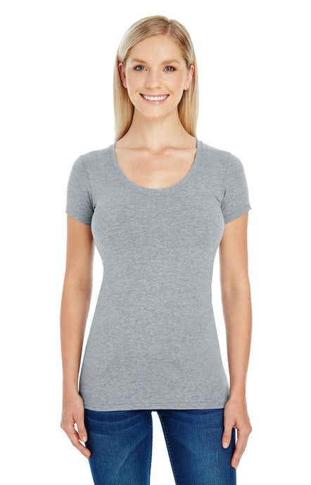 Threadfast Apparel 220S Active Hthr Grey