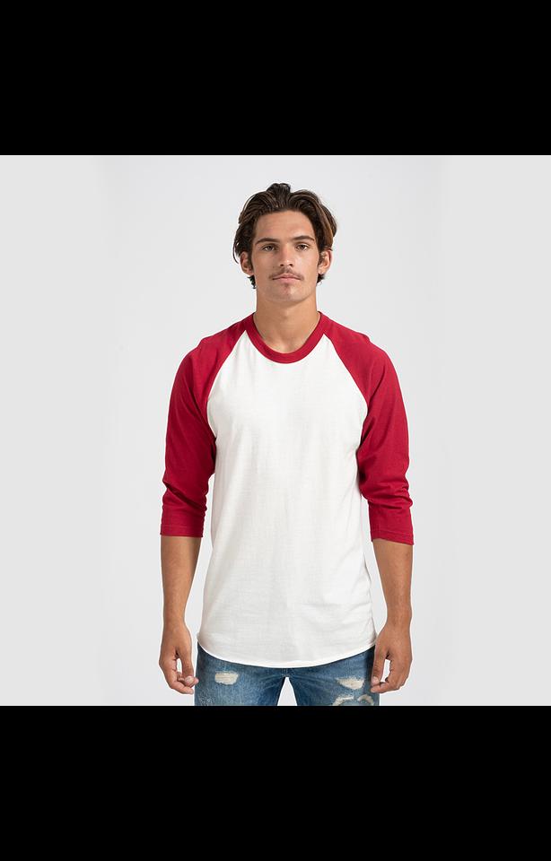 Tultex 0245TC White/Red