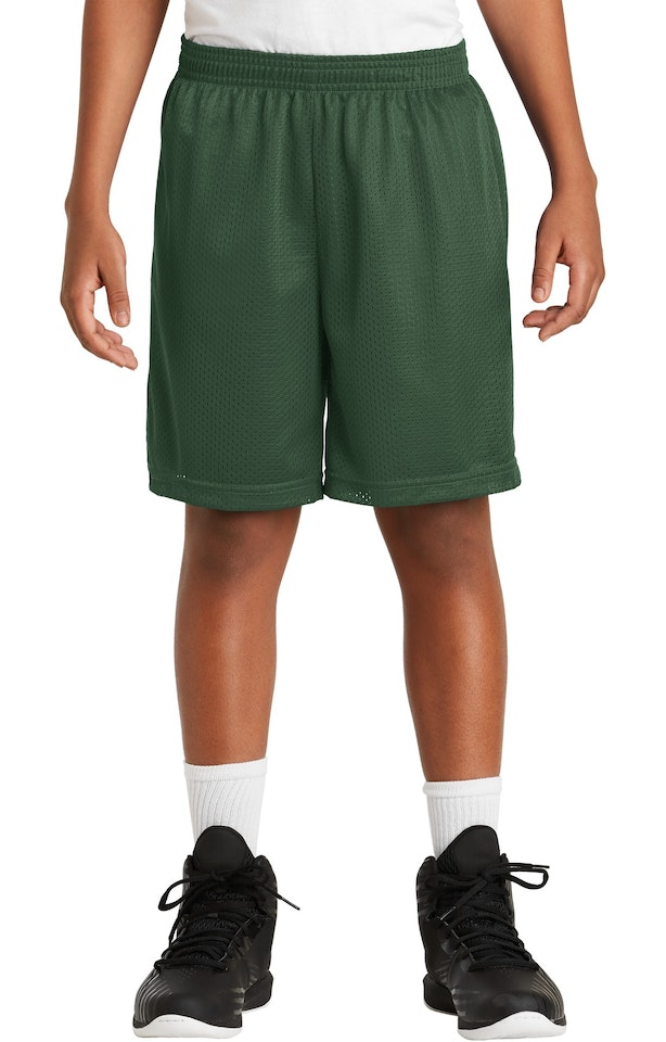 Sport Tek Yst510 Forest Green Youth Posicharge Classic Mesh Short Shop from the collection of regular, slim & skinny fit sports shorts from myntra ✯ top brands. jiffy shirts