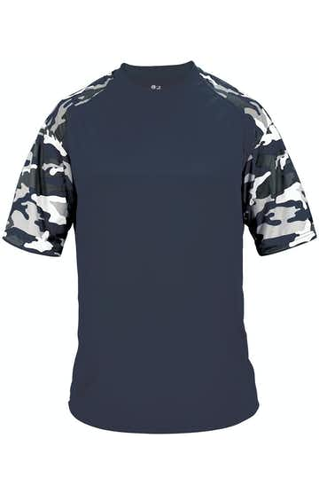 Badger 4141 Navy / Navy Camo