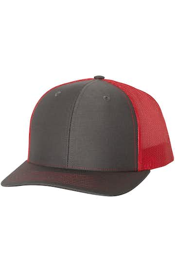 Richardson 112 Charcoal / Red