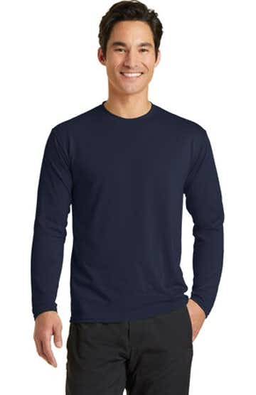 Port & Company PC381LS Deep Navy