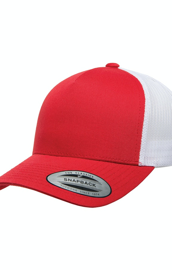 Yupoong 6506 Red/ White