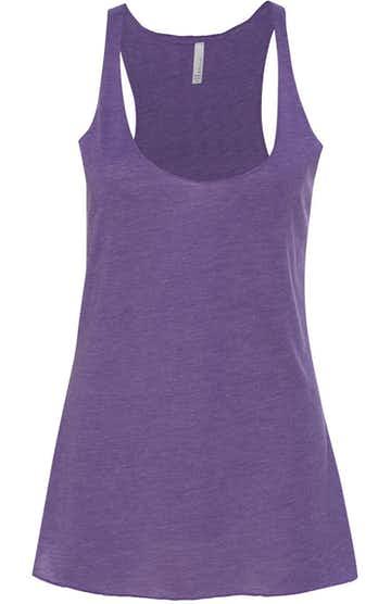 Bella + Canvas 8430 Purple Triblend