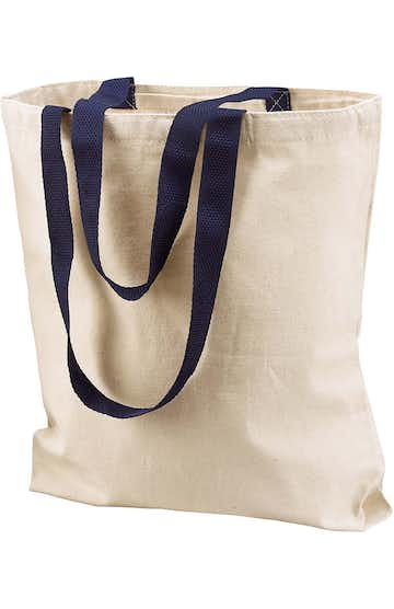 Liberty Bags 8868 Natural/Navy
