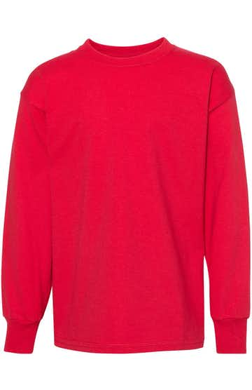 Hanes 5546 Athletic Red