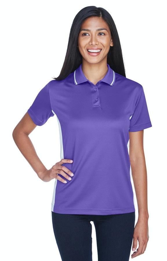 UltraClub 8406L Purple/ White