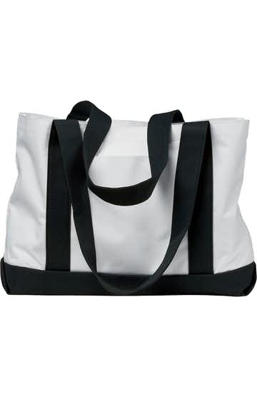 Liberty Bags 7002 White/Black