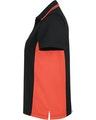 Harriton M386W Black / Tm Orange