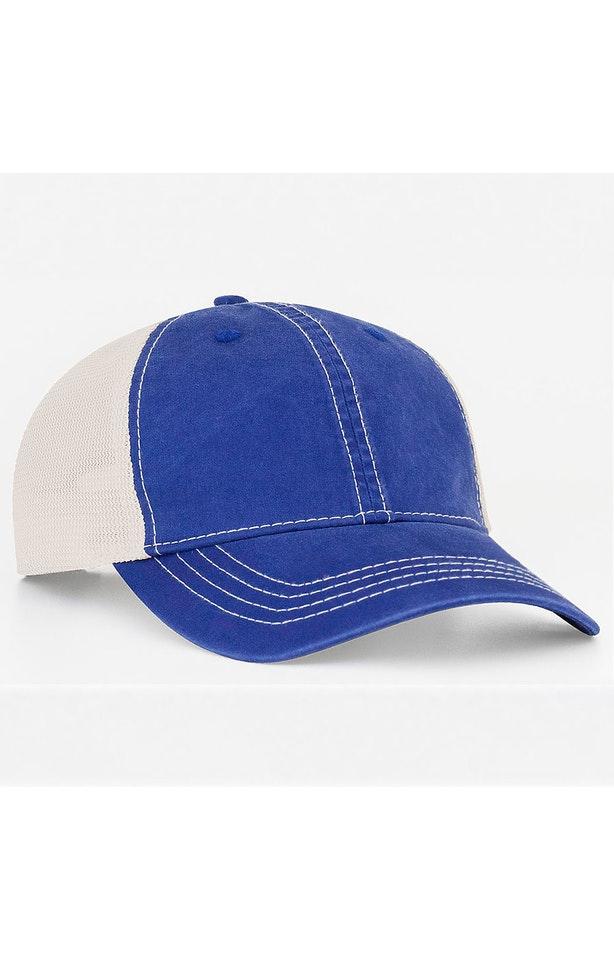 Pacific Headwear 0V67PH Royal/Ivory