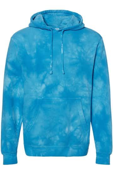 Independent Trading PRM4500TD Tie Dye Aqua Blue