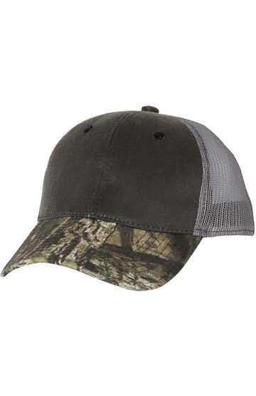 Outdoor Cap HPC500M Black / Country / Gray