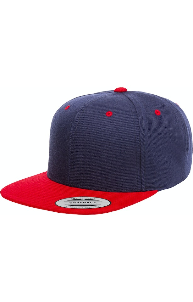 Yupoong 6089 Navy/ Red