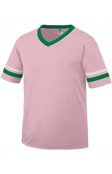 Augusta Sportswear 360 Light Pink/Kelly/White