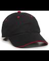 Outdoor Cap GL-645 Black / Red