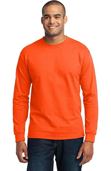 Port & Company PC55LS Safety Orange