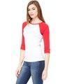Bella + Canvas B2000 White / Red