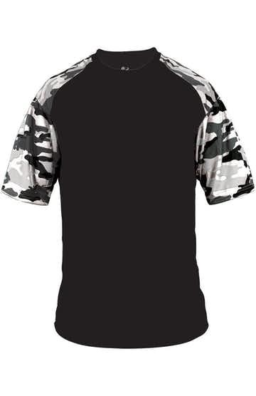 Badger 2141 Black / White Camo
