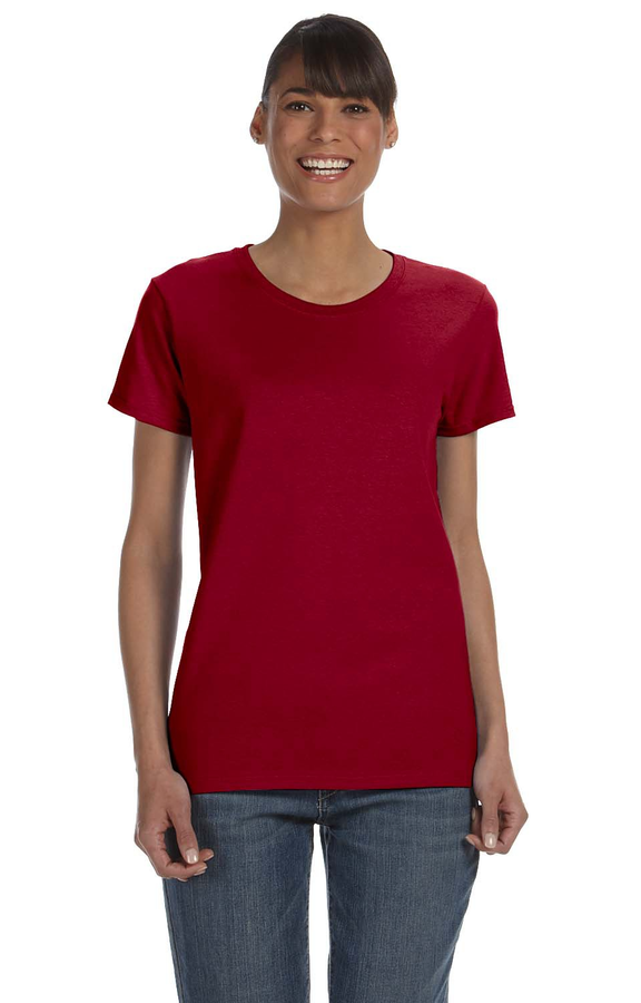 b857716be8 Gildan G500L Cardinal Red Ladies' Heavy Cotton™ 5.3 oz. T-Shirt