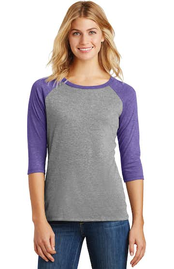 District DM136L Purple Fr / Gray French