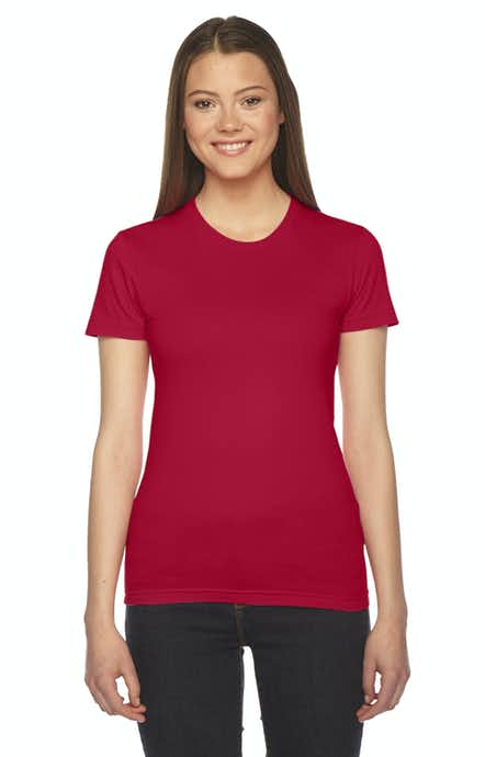 American Apparel 2102W Red