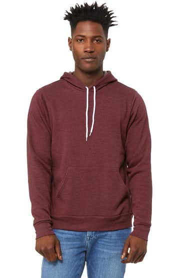 Bella + Canvas 3719 Heather Maroon