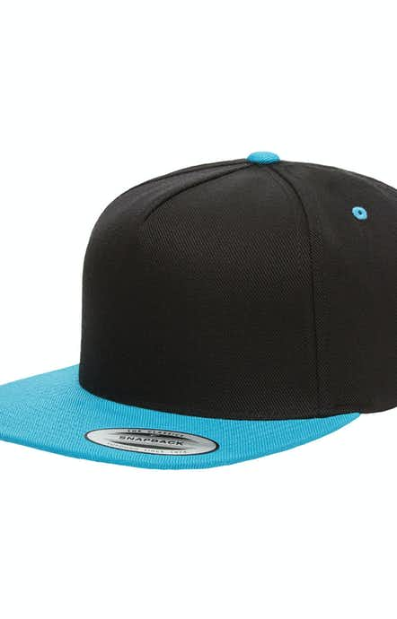 Yupoong YP5089 Black/ Teal