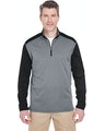 UltraClub 8232 Gray Heather / Black