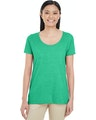 Gildan G6455L Hthr Irish Green