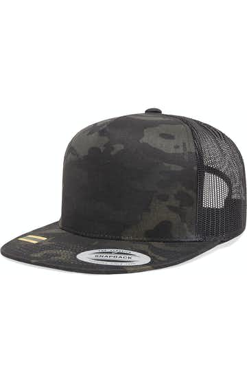 Yupoong 6006MC Black Multicam