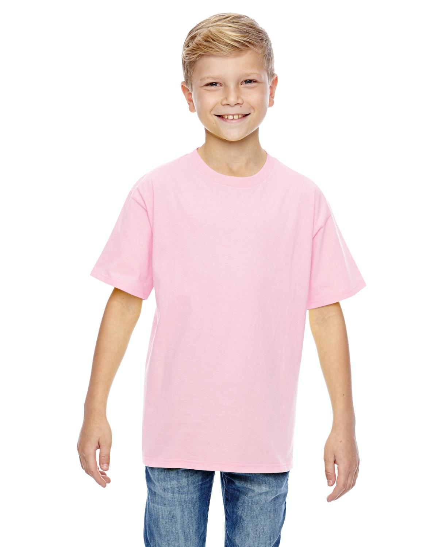Hanes 498Y Pale Pink