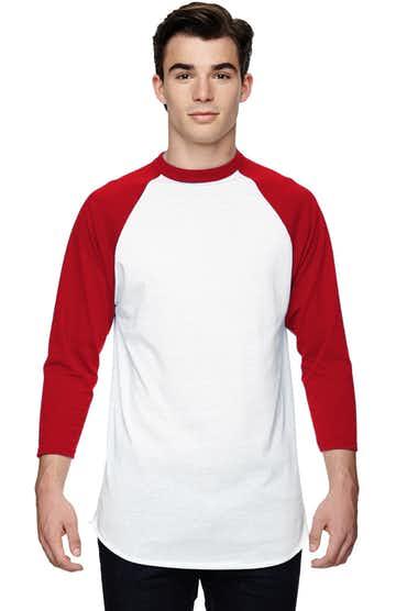 Augusta Sportswear AG4420 White/ Red
