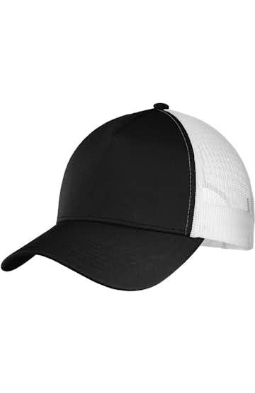 Sport-Tek STC36 Black / White