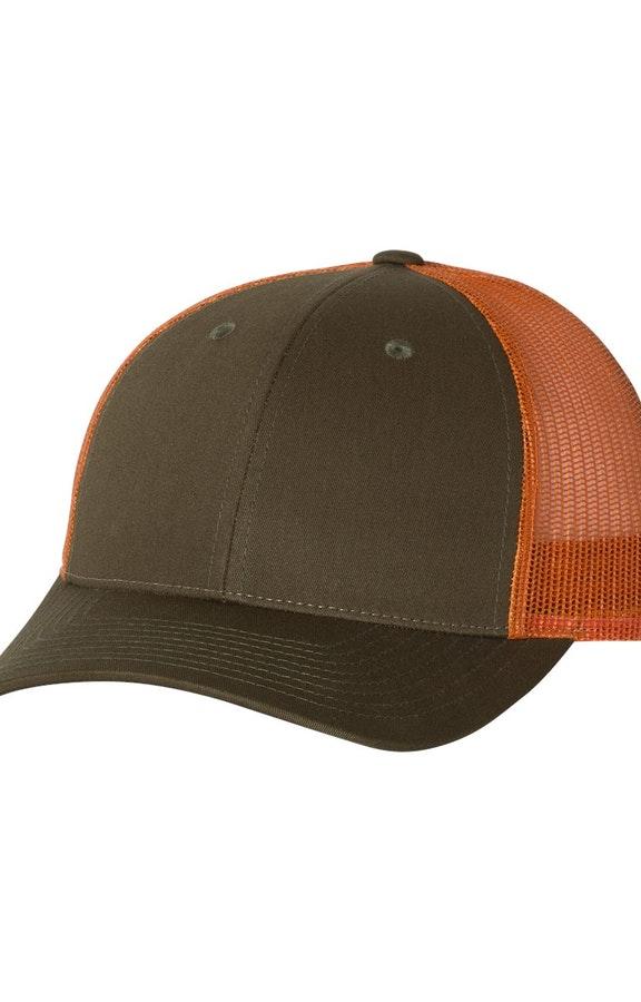 Richardson 115J1 Dark Loden/ Jaffa Orange