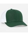 Pacific Headwear 0104PH Dkgreen/White