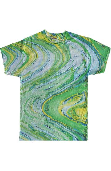 Tie-Dye CD100 Marble Lime