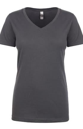7f295bd32c5 ... V-Neck T-Shirt. Next Level N1540 Dark Gray