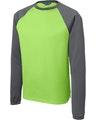 Sport-Tek ST242 Lime Shock / Ds Gray