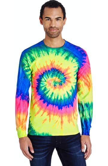 Tie-Dye CD2000 Neon Rainbow