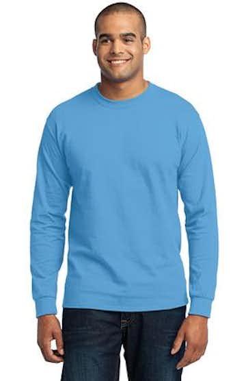 Port & Company PC55LS Aquatic Blue