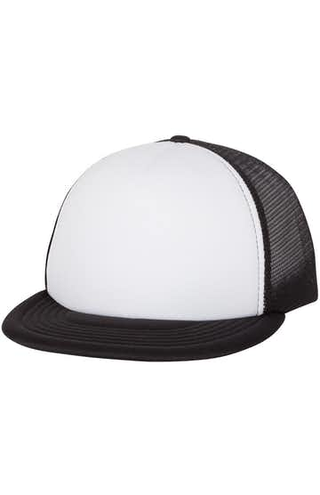 Mega Cap 6875 White / Black