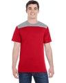 Augusta Sportswear 3055 Red/ Grpht Hthr