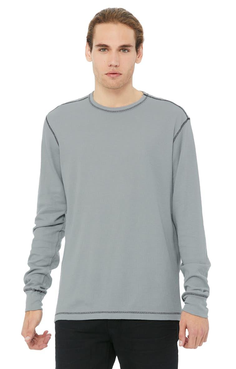86ed7c59 Bella+Canvas 3500 Men's Thermal Long-Sleeve T-Shirt - JiffyShirts.com