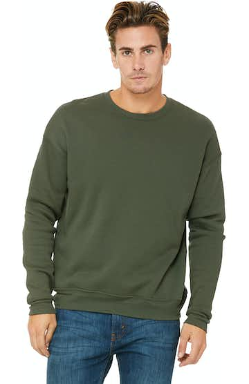 Bella + Canvas 3945 Military Green