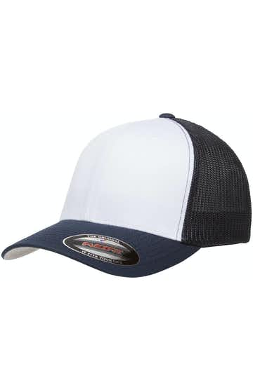 Yupoong 6511W Navy/Wht/Nvy