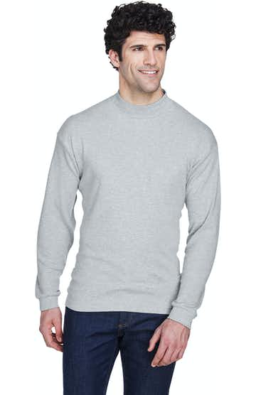 UltraClub 8510 Heather Grey