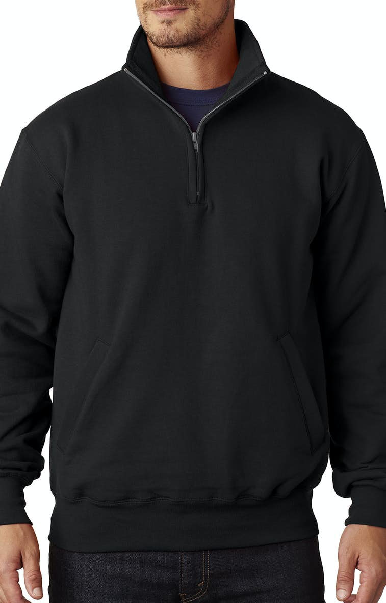 0a40b8f42dd8 Champion S400 Adult 9 oz. Double Dry Eco® Quarter-Zip Pullover -  JiffyShirts.com